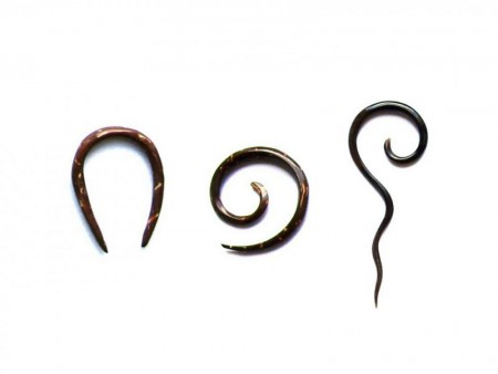 Ørepiercing: mini expanders 1.6mm - 2mm