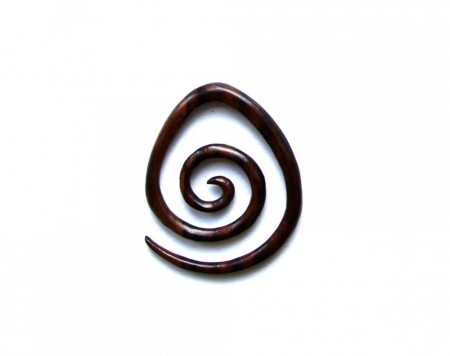 Tribal expander spiral 3 mm