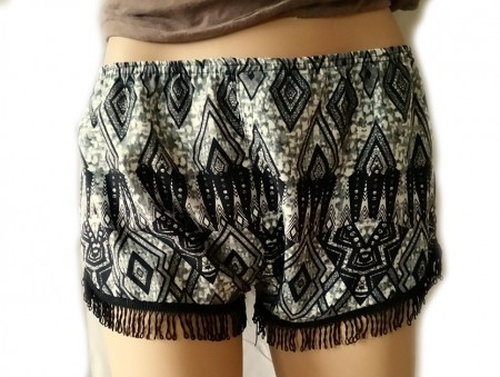 Hippie shorts frynser